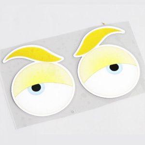 Aufkleber für Rasenroboter - Augen