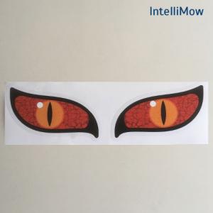 Aufkleber für Rasenroboter, Augen- Devil, Devileyes